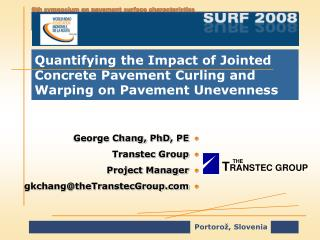 Quantifying the Impact of Jointed Concrete Pavement Curling and Warping on Pavement Unevenness