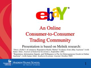 An Online  Consumer-to-Consumer  Trading Community