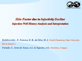 Skin Factor due to Injectivity Decline  Injection Well History Analysis and Interpretation