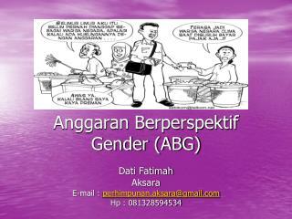 Anggaran Berperspektif Gender (ABG)