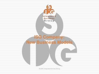 About ISG