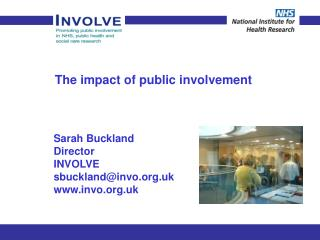 The impact of public involvement