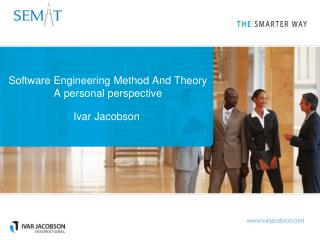 Software Engineering Method And Theory A personal perspective