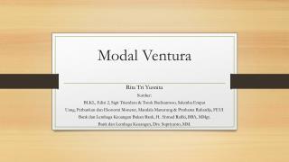Modal Ventura