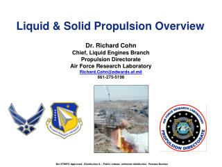 Liquid & Solid Propulsion Overview
