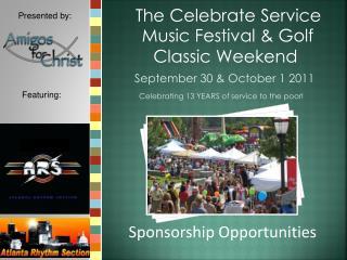The Celebrate Service