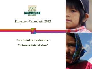 Proyecto  Calendario 2012