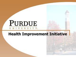 Health Improvement Initiative