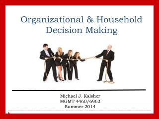 Organizational & Household Decision Making
