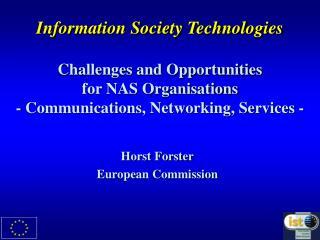 Horst Forster European Commission