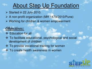 About Step Up Foundation