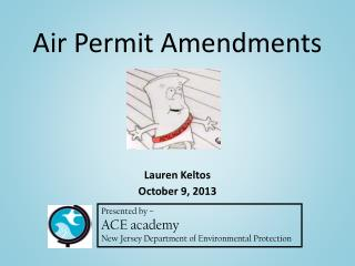 Air Permit Amendments