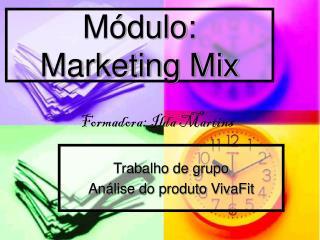 Módulo: Marketing Mix