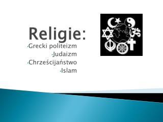 Religie: