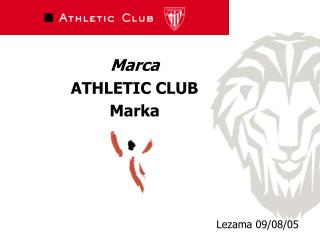 Marca  ATHLETIC CLUB  Marka