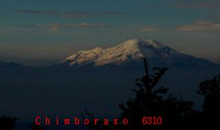 C h i m b o r a z o   6310  msnm