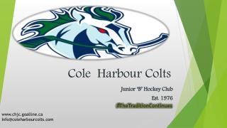 Cole  Harbour Colts