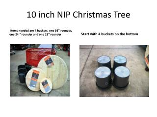 10 inch NIP Christmas Tree