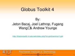 Globus Toolkit 4