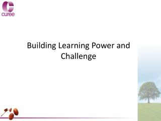 Building Learning Power and Challenge