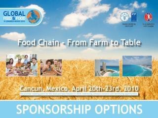 This is the  3rd time  GFFC is to be held in Latin America.