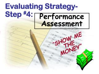 Evaluating Strategy- Step  # 4: