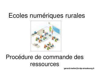 Proc�dure de commande des ressources
