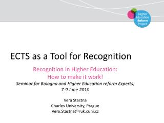 ECTS as a Tool for Recognition