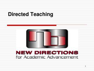 Directed Teaching