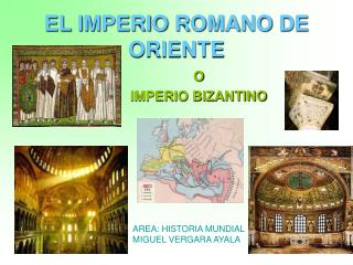 EL IMPERIO ROMANO DE ORIENTE