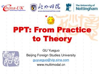 PPT: From Practice to Theory