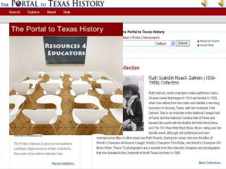 The Portal to Texas History Basic Search Tutorial
