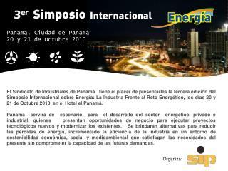 Panamá, Ciudad de Panamá  20 y 21 de Octubre 2010