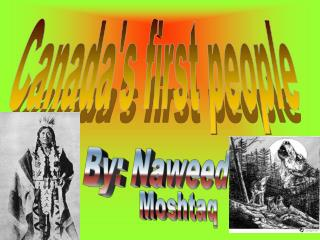 Canada's first people