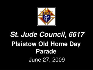 Plaistow Old Home Day Parade