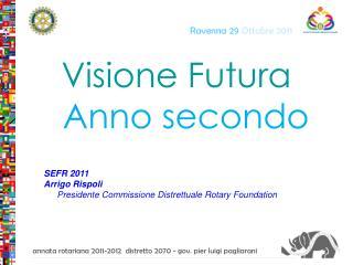 Visione Futura    Anno secondo SEFR 2011