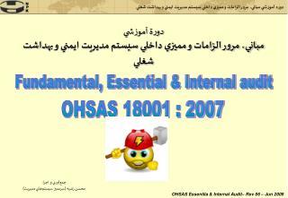 Fundamental, Essential & Internal audit
