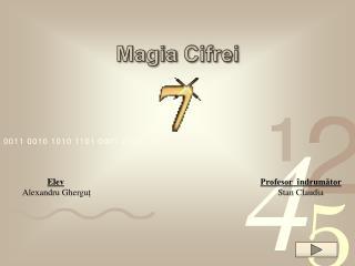 Magia Cifrei