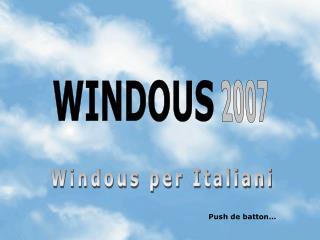 WINDOUS