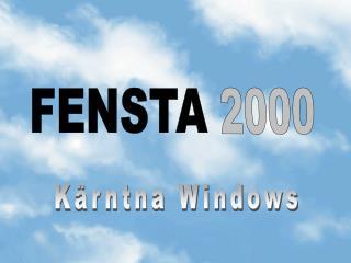 FENSTA