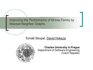 Improving the Performance of M-tree Family by Nearest-Neighbor Graphs