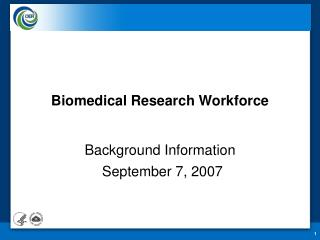 Biomedical Research Workforce