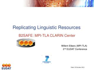 Replicating Linguistic Resources