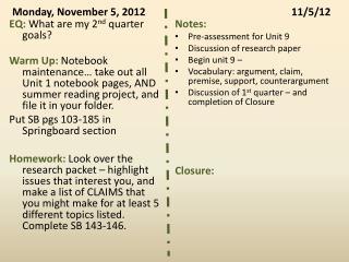 Monday, November 5, 201211/5/12