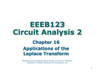 EEEB123 Circuit Analysis 2