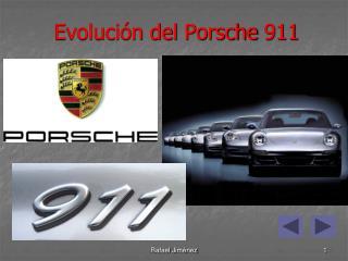 Evolución del  Porsche  911