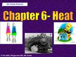 Chapter 6- Heat