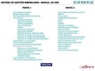 SISTEMA DE GESTIÓN INMOBILIARIA - MANUAL DE USO