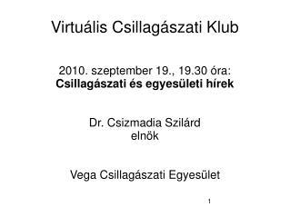 Virtuális Csillagászati Klub