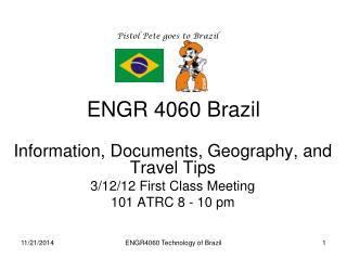 ENGR 4060 Brazil